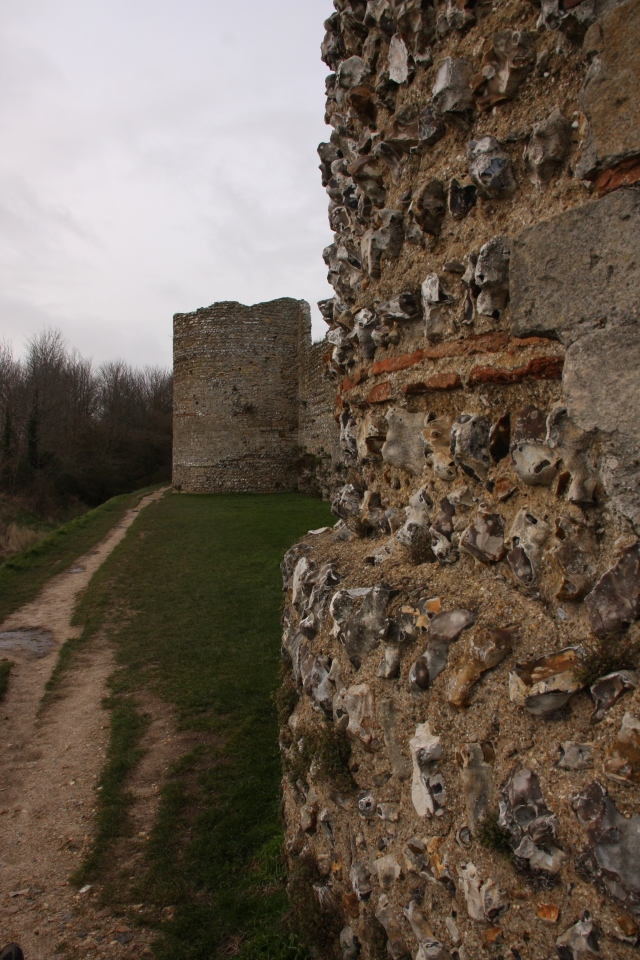 Outer Roman wall with bastions