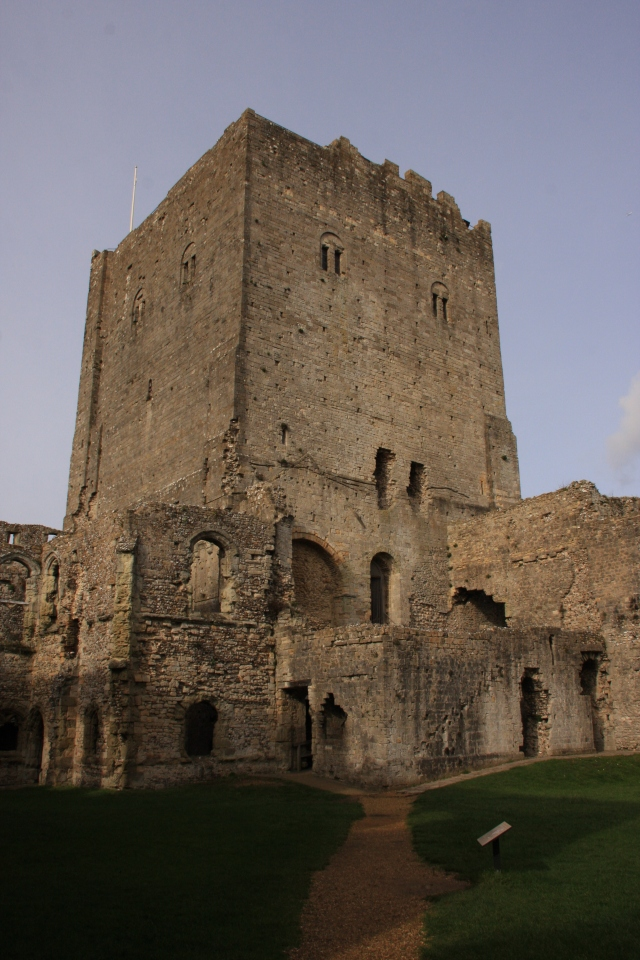 Portchester keep