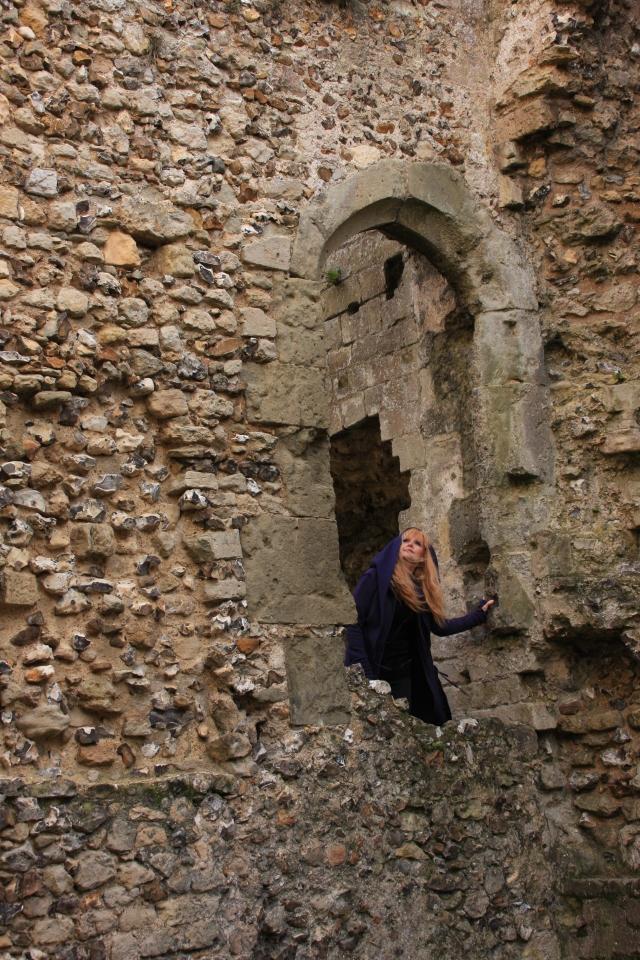Roaming around the castle