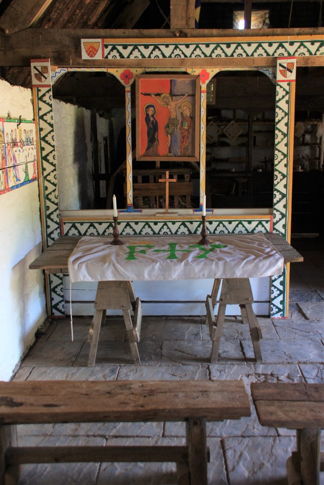 Altar in tythe barn.jpg
