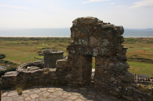 From battlements to the sea.JPG