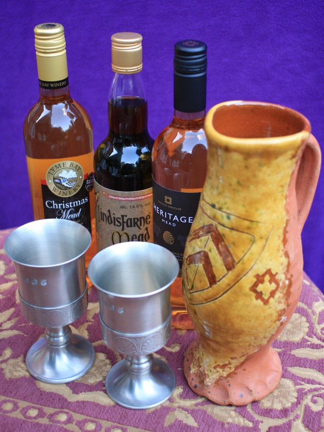 Mead goblets and jug