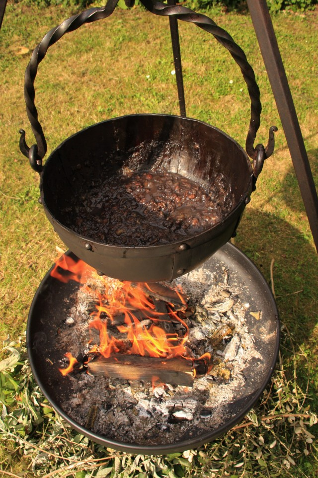 Compost cooking