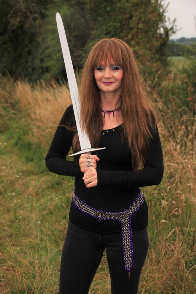 Me with sword